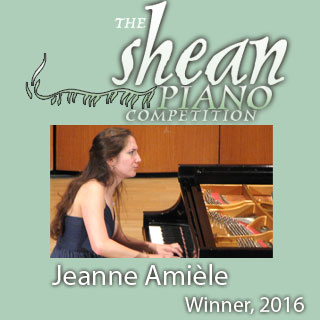 2016 Shean Piano Competition Winner Jeanne Amièle