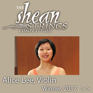 2017 Shean Strings Competition Winner Alice Lee, Vioion